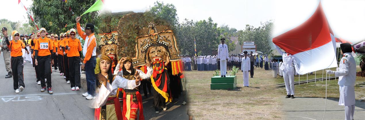 Peringatan HUT Kemerdekaan<BR>Republik Indonesia Kecamatan Purwosari